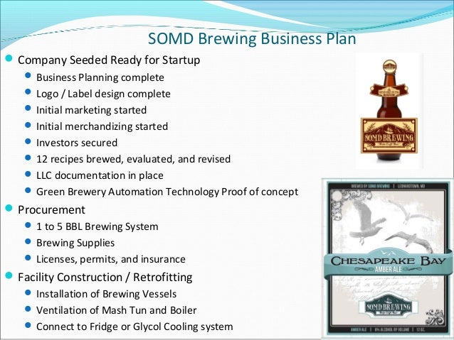 A Sample Nano Brewery Business Plan Template