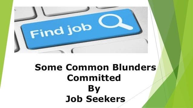 Common resume blunders