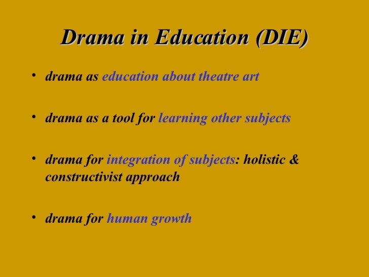 constructivist approach to drama in the