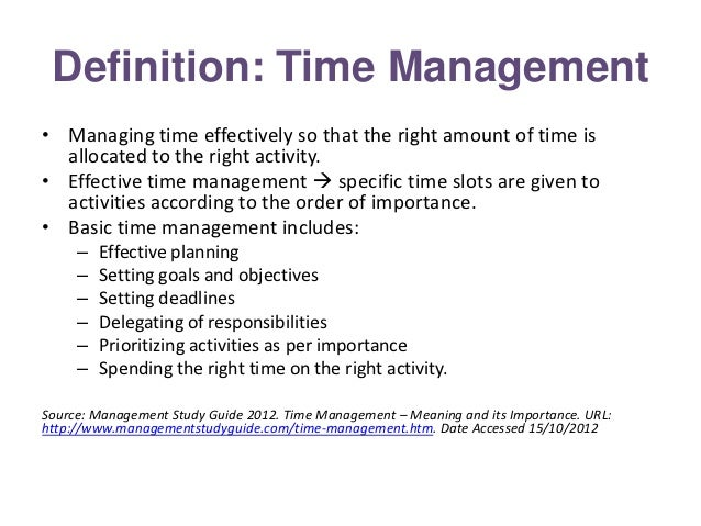 define the term 'management' Get a basic definition of organization in this topic from the free management library  these systems and processes are define by  a term increasingly.