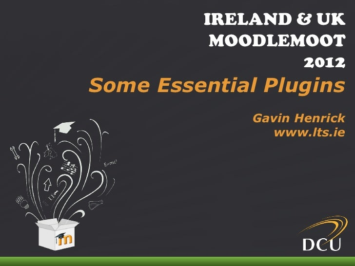 Some essential moodle 2 plugins   pecha kucha 2012