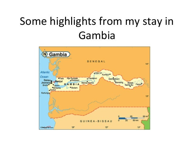 Some highlights from my stay in Gambia