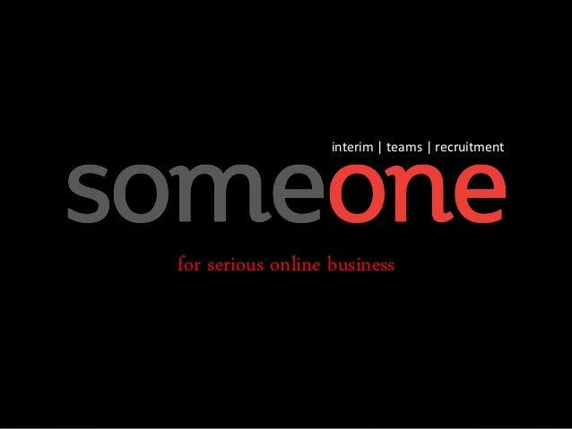 interim   teams   recruitmentfor serious online business