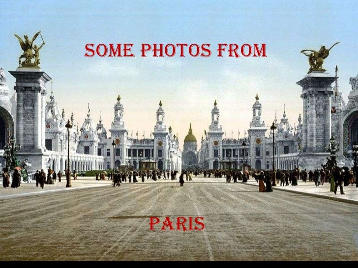 Some photos from paris