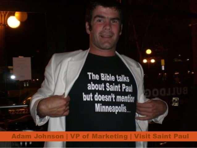 Adam Johnson | VP of Marketing | Visit Saint Paul