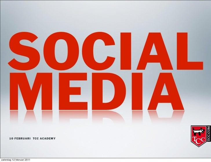 Social media @ TCC
