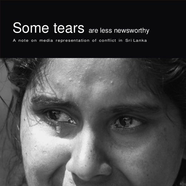 Some tears are less newsworthy