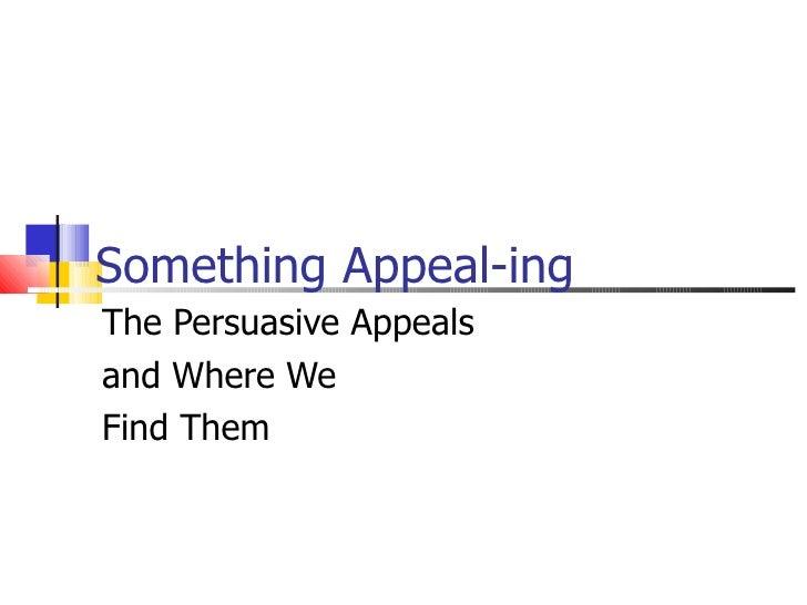 Something Appeal Ing Tp