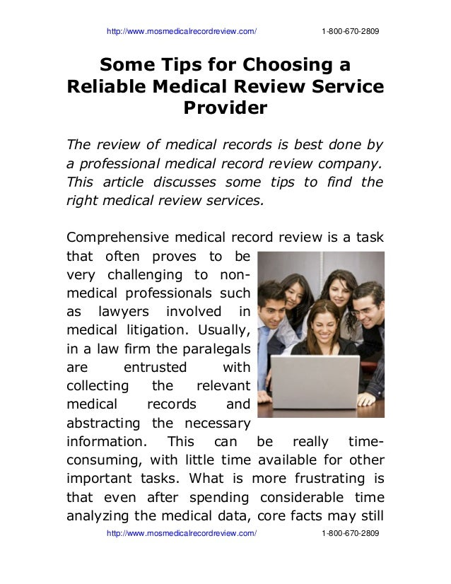 http://www.mosmedicalrecordreview.com/18006702809Some Tips for Choosing ...
