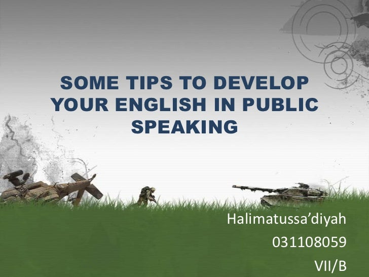 How to speak english fluently some tips