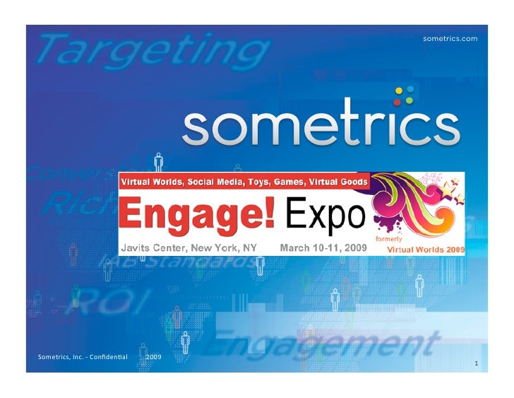 Sometrics Engage Expo