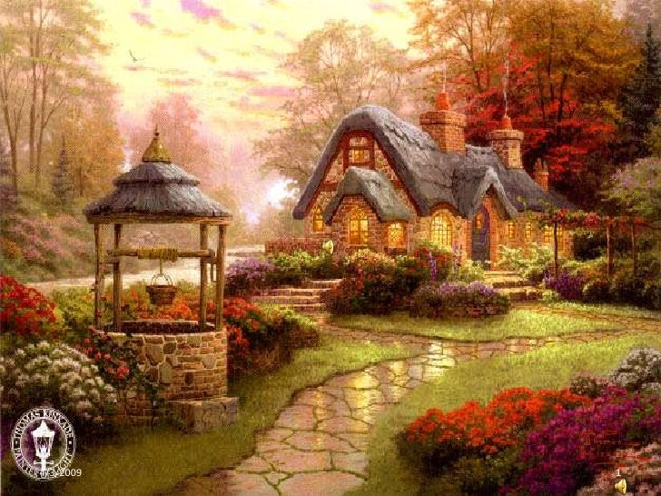 Somewhere My Love In Kinkade Cottages