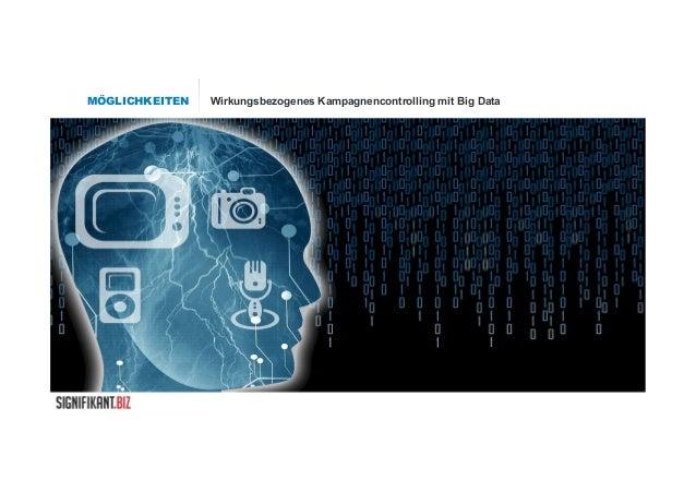 MÖGLICHKEITEN Wirkungsbezogenes Kampagnencontrolling mit Big Data