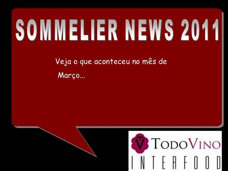 Sommelier news   março 2011
