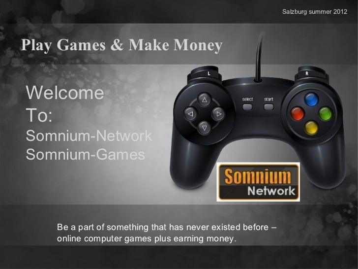 Somnium Network Powerpoint Präsentation auf englisch