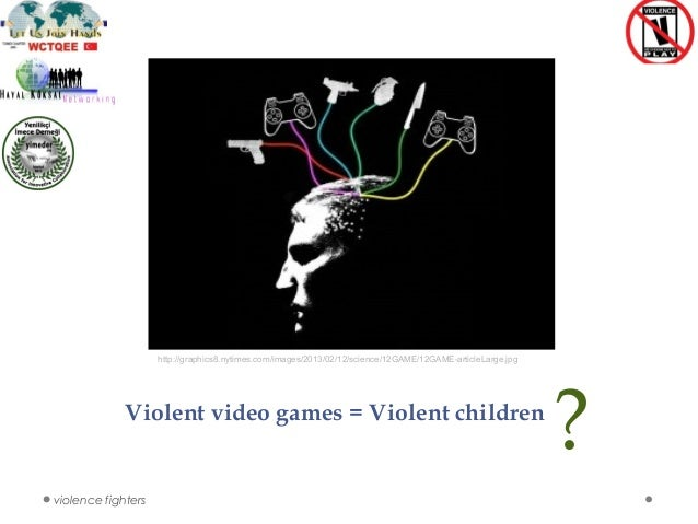 violent video games children Science before reading: what qualities do you like in a video game what kind of violence do you think qualifies a video game as violent do you think violence on tv or movies affects you.
