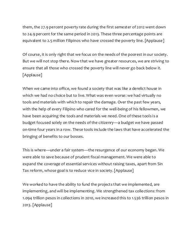 reaction paper aquino sona 2012 Reaction paper- sona reaction paper on the state of the nation address (sona) 2012 july 23, 2012- third state of the nation address of president benigno aquino iii.