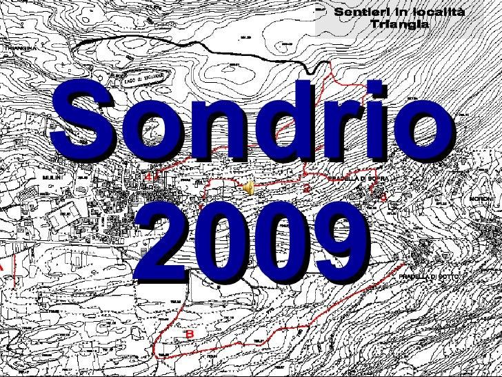 Sondrio 2009