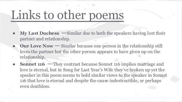 My last duchess essay