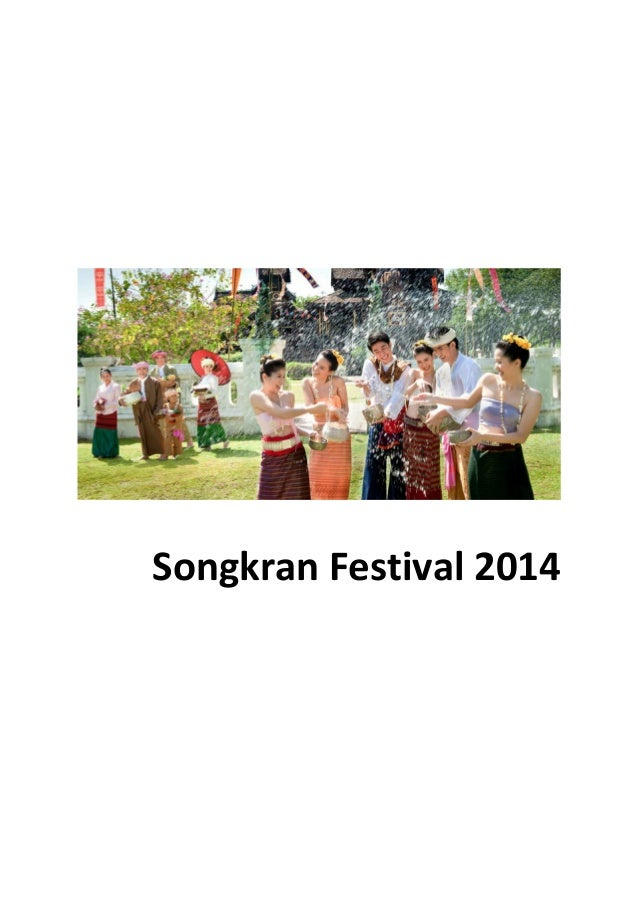 Songkran Festival 2014