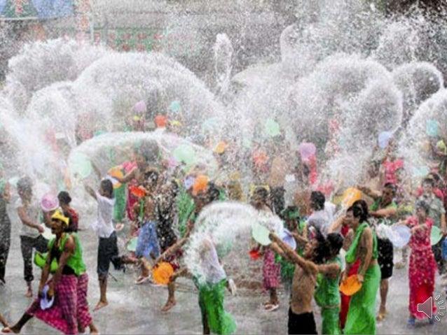 Songkran 2013, Water Festival in Thailand