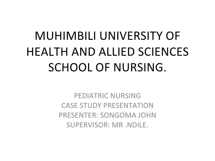malnutrition case presentation