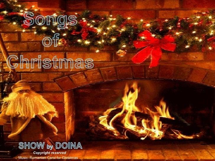 Songs Of Christmas (1)