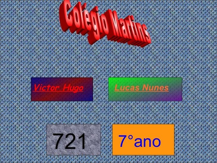 Colégio Martins Victor Hugo Lucas Nunes 721 7°ano