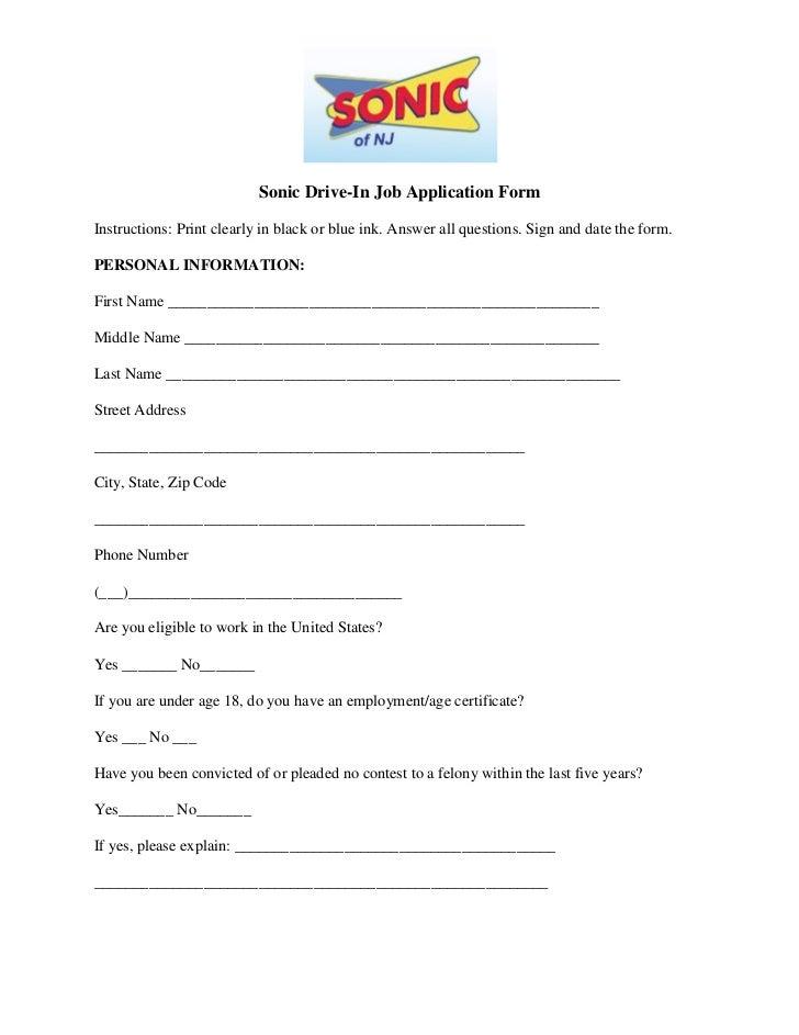 Application For Employment Ga