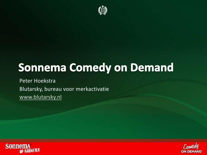 Sonnema Comedy On Demand Case