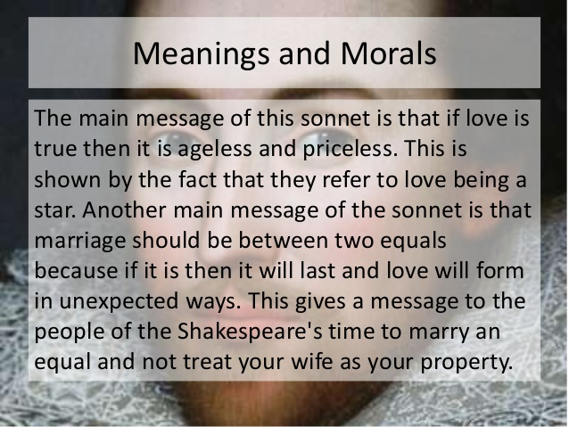 william shakespeares sonnet 116 essay