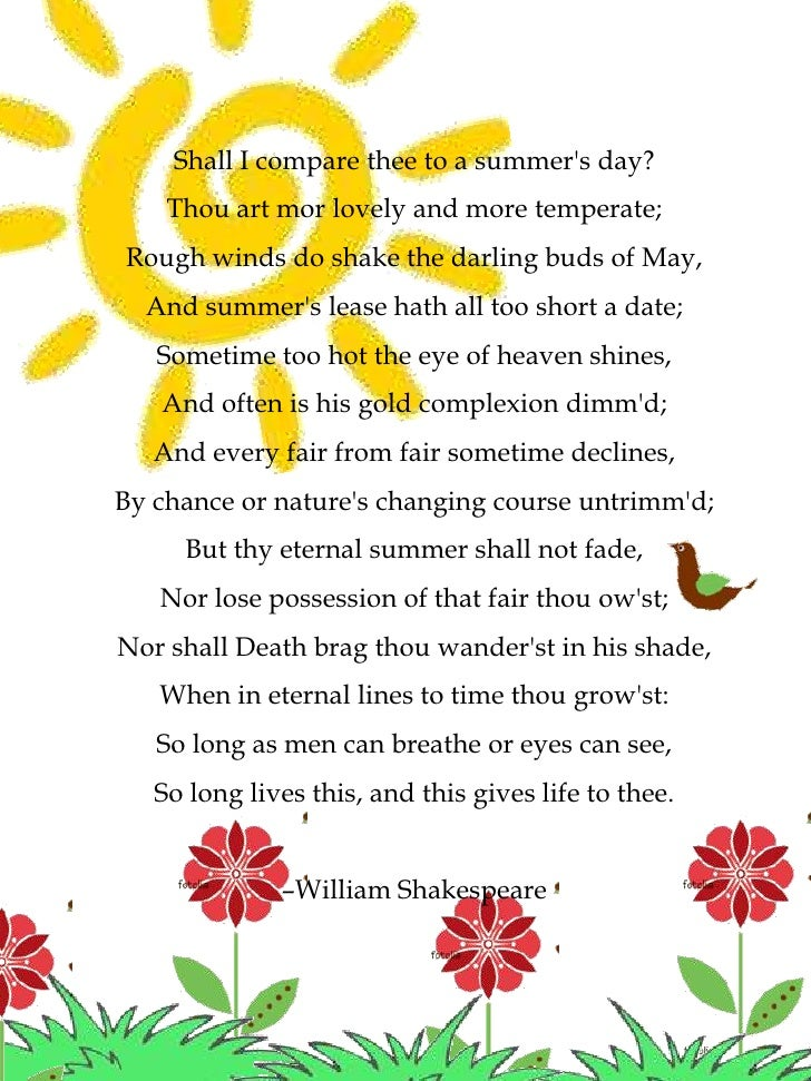 Sonnet Poem Examples
