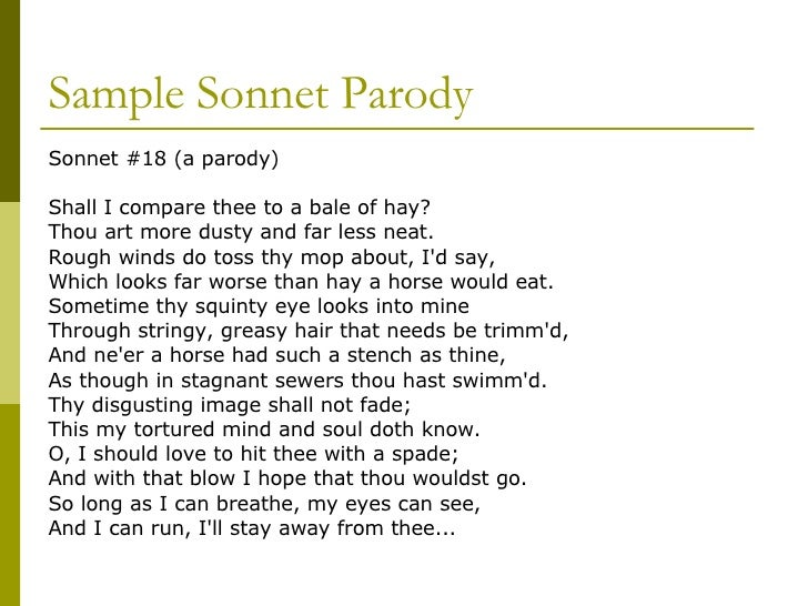 how to write a sonnet poem