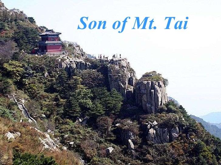 Son of Mt. Tai