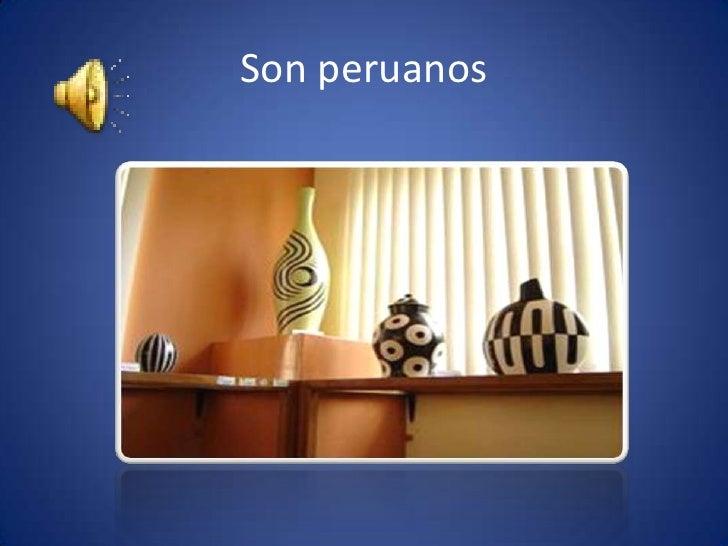 Son peruanos<br />