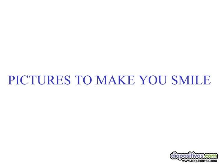 Sonrrie Con Los Animales Diapositivas