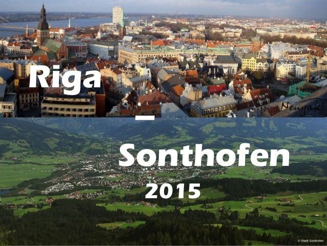Riga – Sonthofen 2015