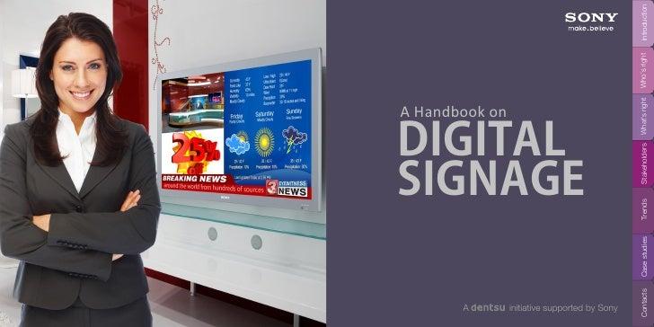 Sony Digital Signage Handbook