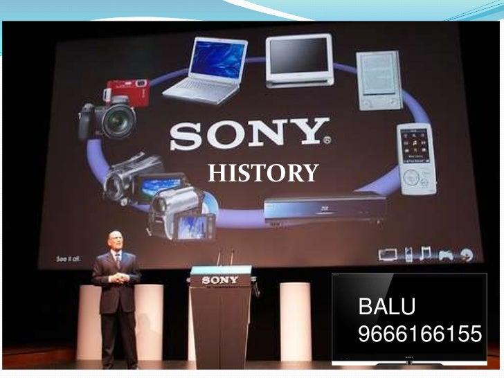 Sony history [balu]