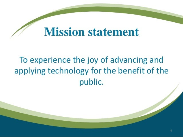 sony ericsson mission and vision statement Sony corporation also has a joint venture in mobile phones with sony ericsson strength of the sony mission statement mission and vision a vision statement.