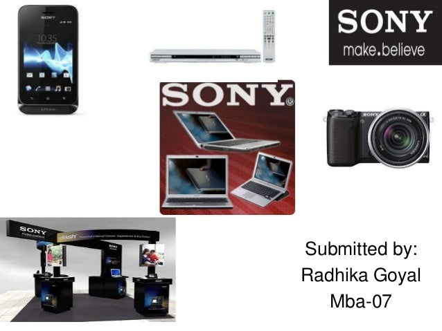 Sony ppts