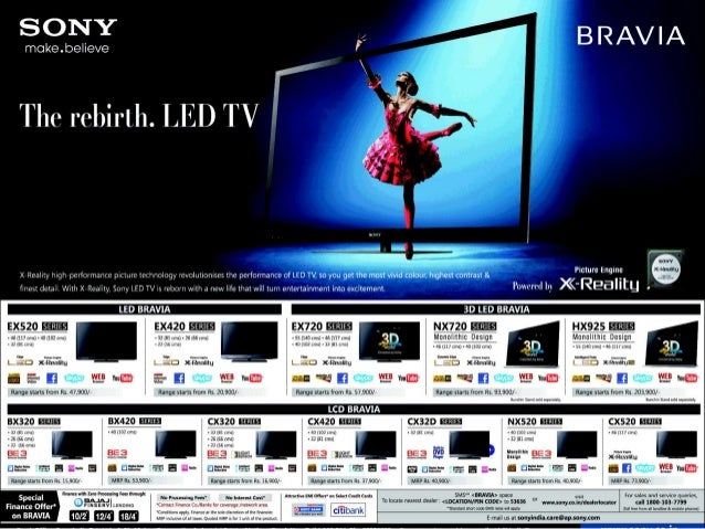 Sony to Target Commercial Customers (SNE)