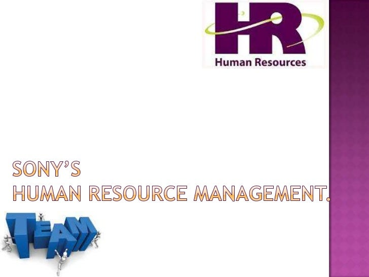 Sony's human resource management