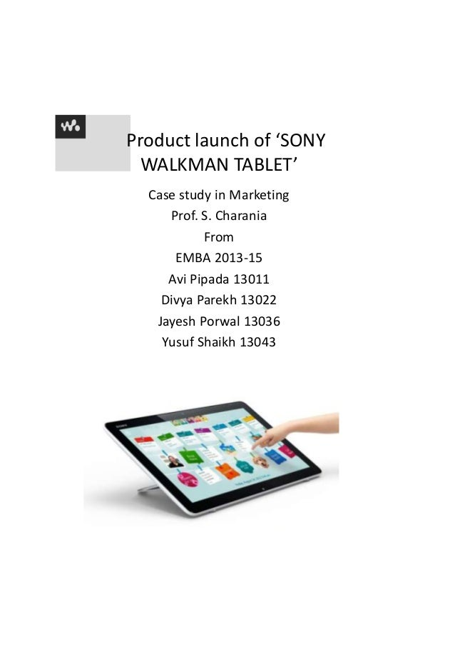 Sony tablets project(relaunching)