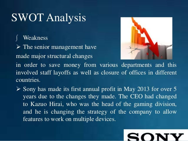 an analysis and case study about sony corporation marketing essay Case studies introduction a  case 13 sony corporation: the vision  to successful use of the case analysis method with-out careful study and analysis,.