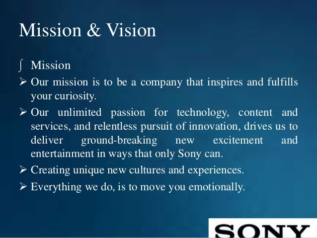 nokia mission statement Vision and mission statement : nokia 's vision 9696 words | 39 pages task 3 vision and mission it is important to understand the difference between vision and mission statement in order to understand whether nokia's statements are aligned to the need of its customers.