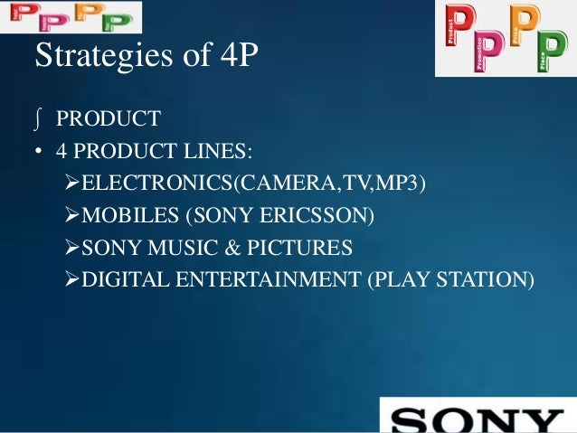 sony bravia marketing mix What is the purpose of the 7 c's of the marketing mix update cancel ad by uc berkeley extension marketing certificate at uc berkeley extension what is the marketing mix of the sony bravia why is place in the marketing mix important.