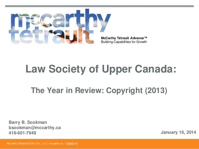 Sookman lsuc copyright_year_in_review_2013_final