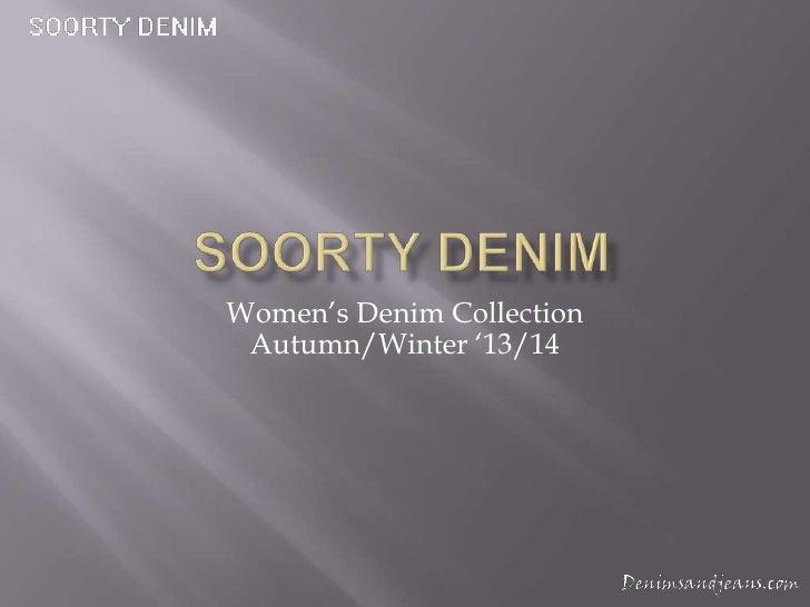 Women's Denim Collection Autumn/Winter '13/14