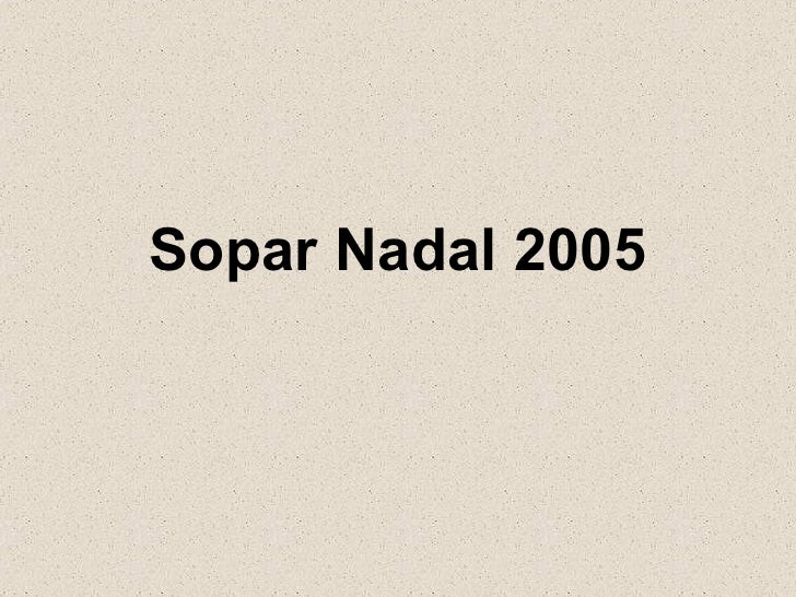 Soparnadal2005